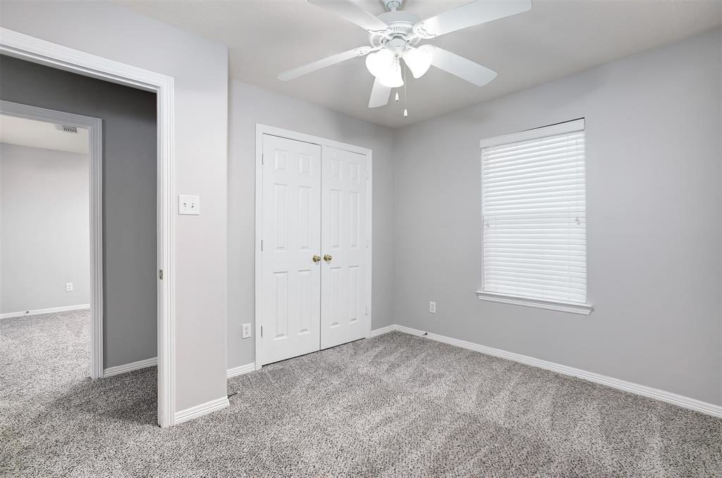 secondary bedroom big closet tomball