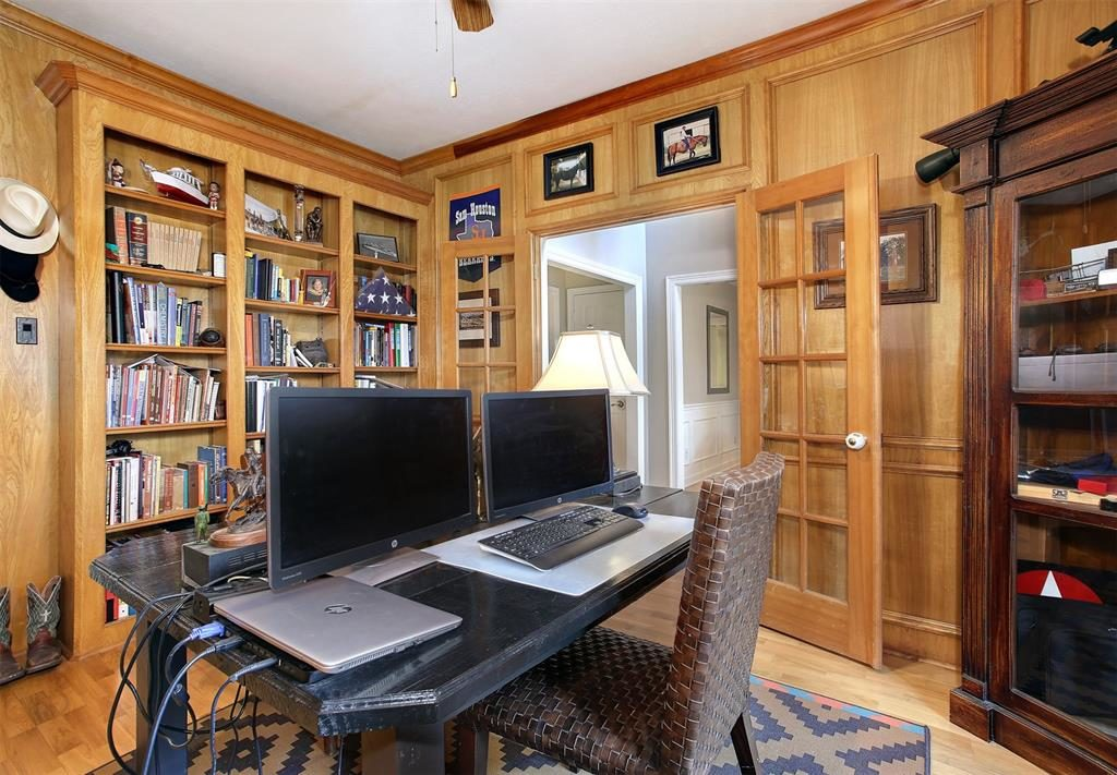 home office or den