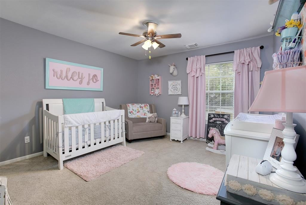 secondary bedroom or nursery