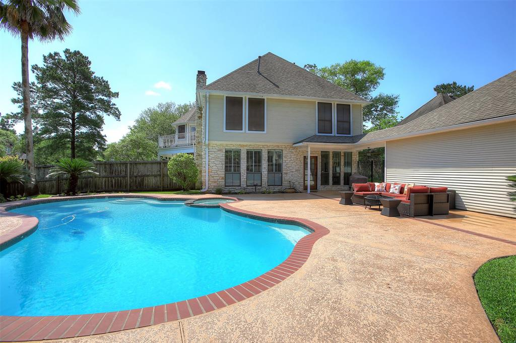 pool wide paved surround