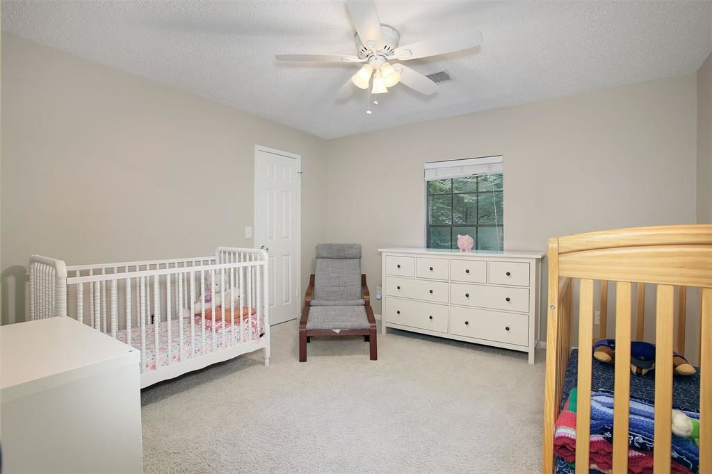 guest bedroom as nursery